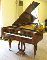 6-1/2-octave fortepiano after instruments made ca. 1830 in Vienna